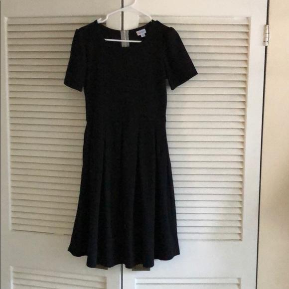 LuLaRoe Dresses & Skirts - LuLaRoe Black Amelia